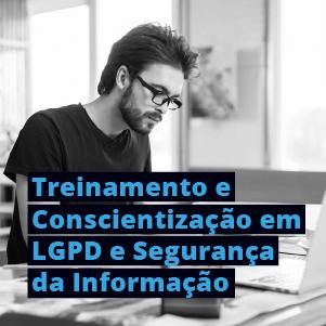 Treinameto conscientização em LGPD e segurança da informação